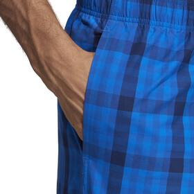 adidas Check ML Shorts Men, dark blue/hi-res orange